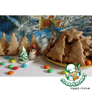 Рецепт Spekulatius - рождественское печенье