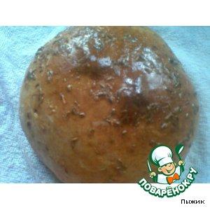Рецепт Пшенично-ржаной хлеб с тмином и гвоздикой