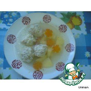 Рецепт Суп с куриными фрикадельками