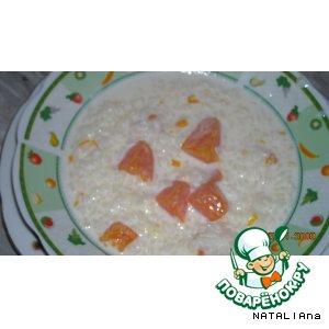 Рецепт Вкусная рисовая кашка