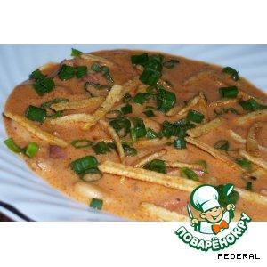 Рецепт Фасолевый суп-пюре по-испански