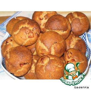 Рецепт Печенье «Гречневое» с вяленой вишней