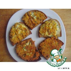 Рецепт Горячие бутерброды на завтрак