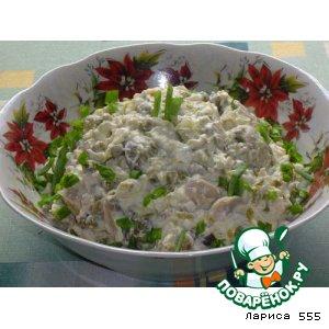Рецепт Салат  «Курочка Ряба»