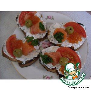 Рецепт Бутерброды по-сахалински