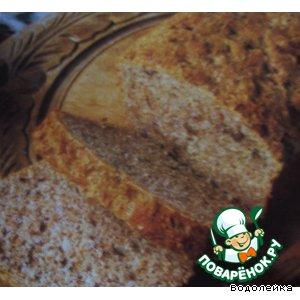 Рецепт Сырно-ореховый хлеб
