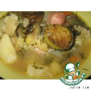 Рецепт Айнтопф - густой суп