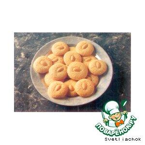 Домашний рецепт с фото Миндальные печеньки