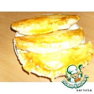 Рецепт Пироги с шампиньонами