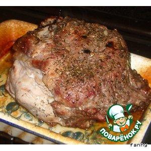 Рецепт Свинина, запеченная с травами