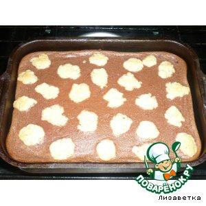 Пирог творожный с пудингом 3