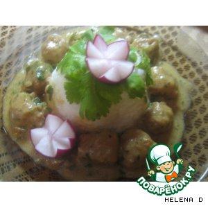 Рецепт Фрикадельки с грибным соусом