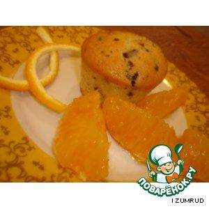 Рецепт Апельсиновые кексики