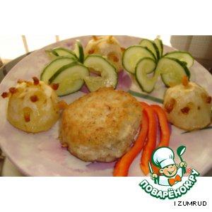 "Рецепт ""Ежики"" из картошки"