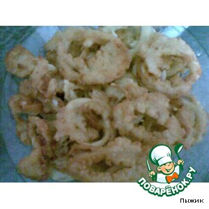 Рецепт Кольца кальмара в кляре по-итальянски