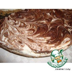 Вкусный рецепт приготовления с фотографиями Чизкейк с шоколадом