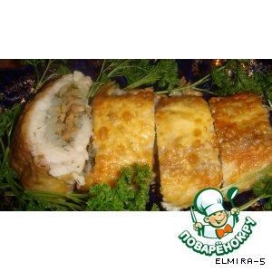 Рыбный рулет, запечeнный в фольге простой пошаговый рецепт приготовления с фото как приготовить