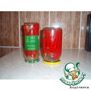 Перец маринованный (чили) простой пошаговый рецепт с фотографиями