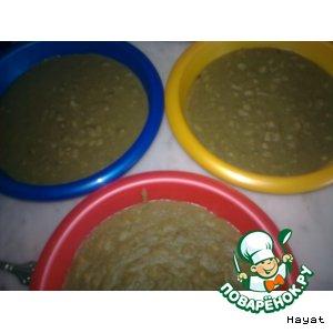 Рецепт Мжаддара-пюре из чечевицы с рисом