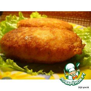 Рецепт Сырно-рисовые котлеты