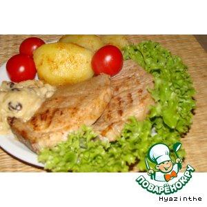 Рецепт Мясо в коньячном маринаде
