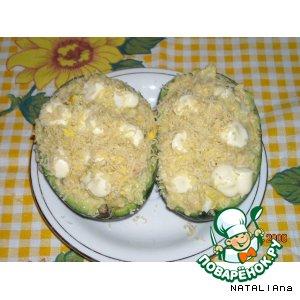 Рецепт Фаршированное авокадо