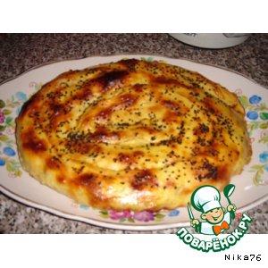 """Как приготовить Пирог """"Улитка"""" вкусный рецепт приготовления с фото пошагово"""
