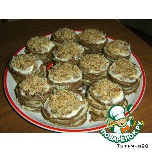 Рецепт Пирожные из печени