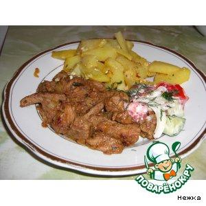 Рецепт Нежное мясо от «нежки»
