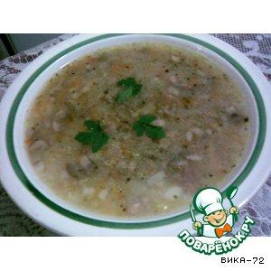 Рецепт Куриный суп с грибами