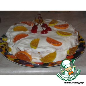 Рецепт: Торт из варенья