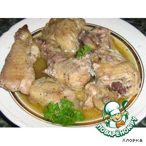 Рецепт Курица в собственном соку в банке