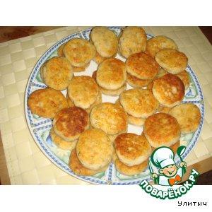 Рецепт Сырники соленые