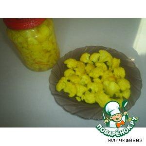 Рецепт Желтая капусточка
