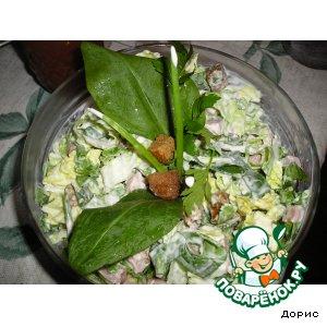 Рецепт Зелeный салатик