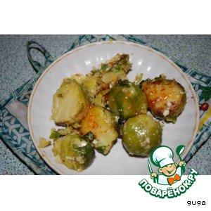 Рецепт Брюсселька с орешками по-тайски