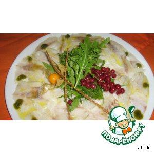 Рецепт Карпаччо из сибаса