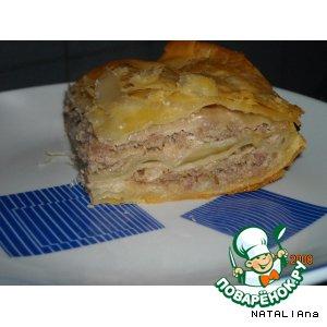 Рецепт Эльзасский мясной пирог