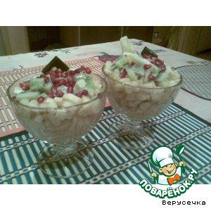 Как готовить рецепт с фотографиями Фруктовый салат с ликером
