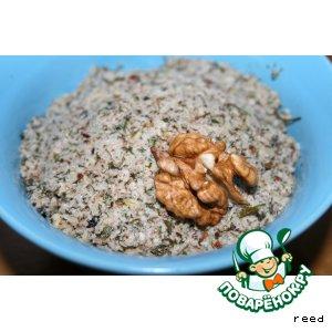Рецепт Икра из орехов и чеснока