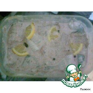 Рецепт Пресервы с сельдью в розовом майонезе (рецепт №3 )