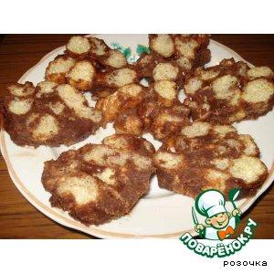 Рецепт Сладкая колбаска