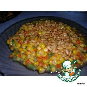 Рецепт Горячий десерт из кукурузы