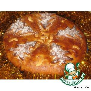Рецепт Пряник «Рождественский» с начинкой