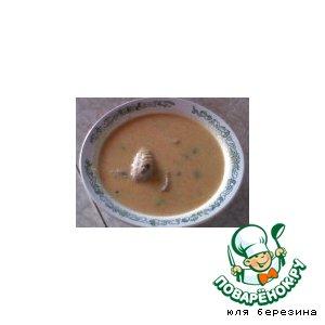 Рецепт Суп пюре из морковки