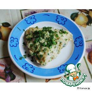 Рецепт Быстрый завтрак с цветной капусткой, колбаской и ..