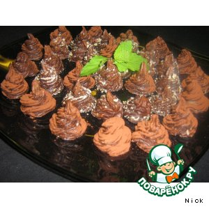 Трюфеля шоколадные простой пошаговый рецепт с фото
