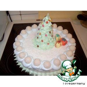 Рецепт Новогодний тортик
