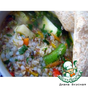 Рецепт Гречиховый суп