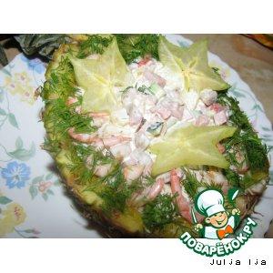 корзинка салат его рецепт